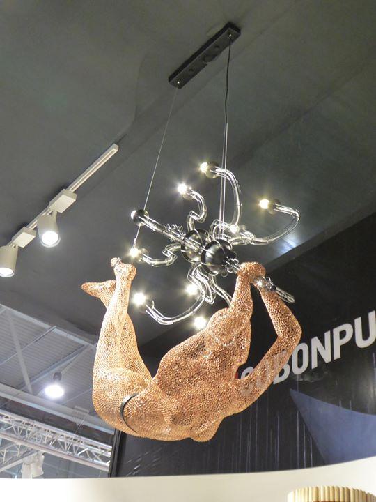 Kenneth Cobonpue Limbo Chandelier 10 luci led E14