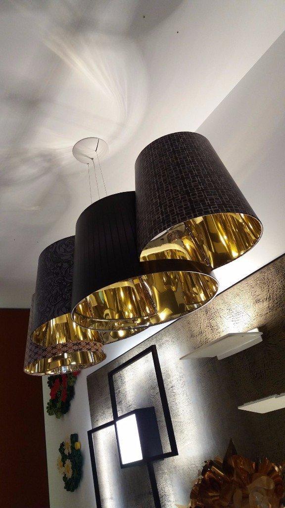 Axo Light Meltingpot sospensione 4 luci E27