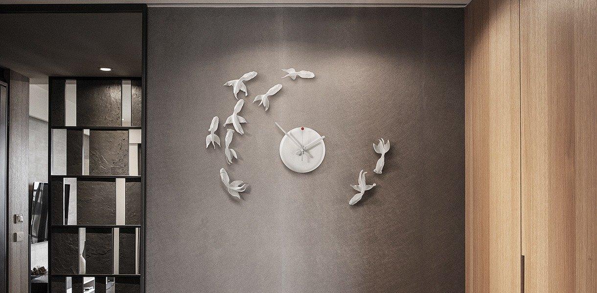 Hao Shi orologio resina carpe
