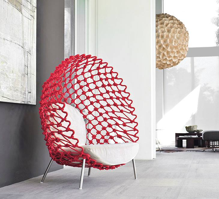 Kenneth Cobonpue Dragnet long chair