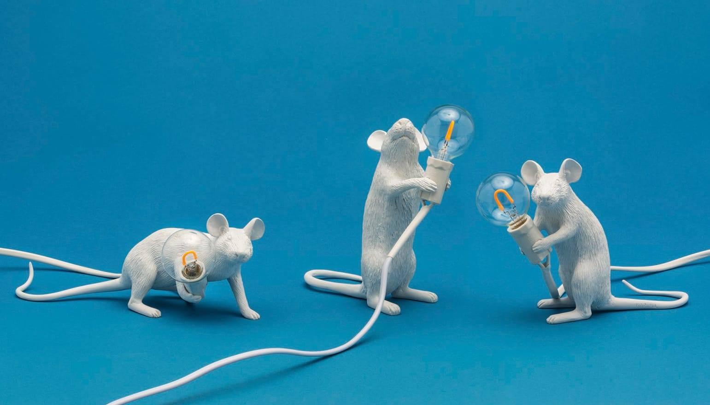 Seletti Mouse lamp tavolo