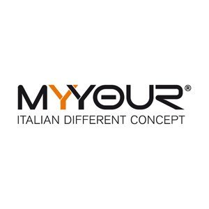 logo my your Italian different concept