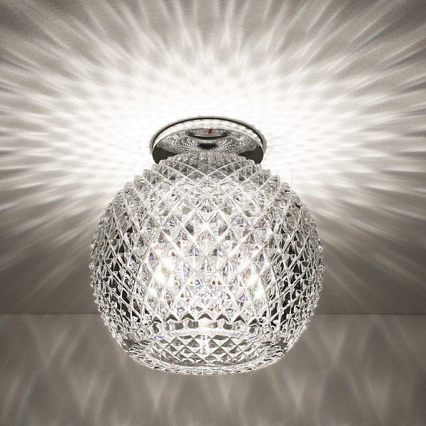 lampadario moderno in cristallo