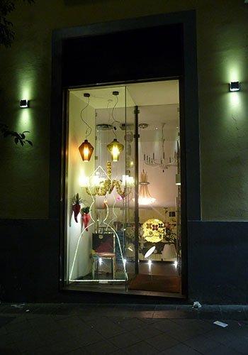 vetrina di un negozio