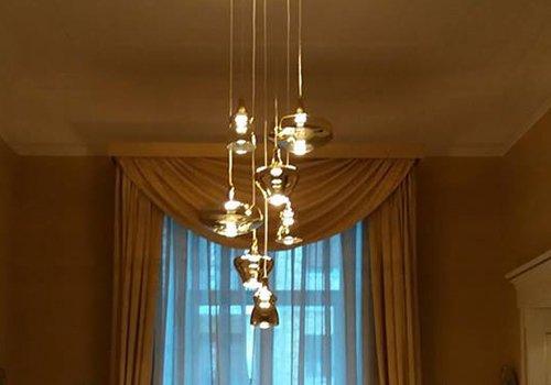 lampadario pendente stile classico