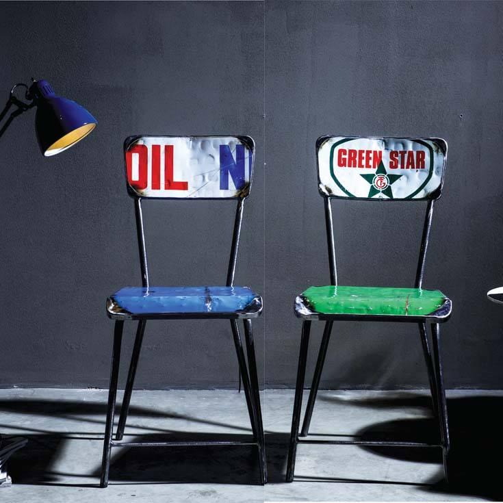 Vibrazioni art design sedia secca
