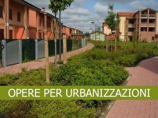 opere per urbanizzazioni