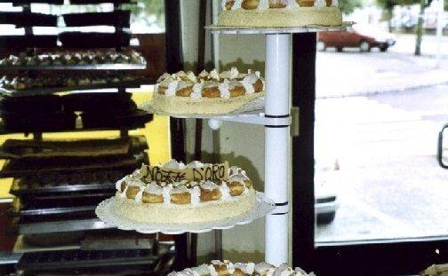 Torte con bigne