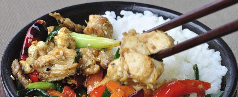 Thai food menu