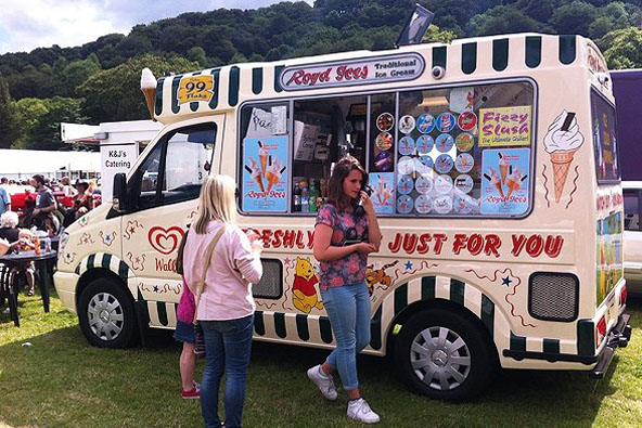 Ice Cream Van Hire - Hebden Bridge & West Yorkshire