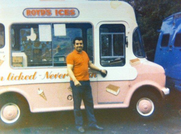 One of the original Royd Ices' ice cream vans