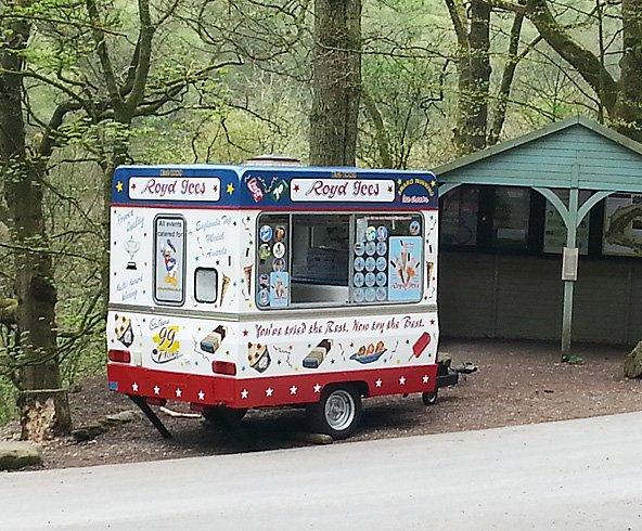 Royd Ices' trailer