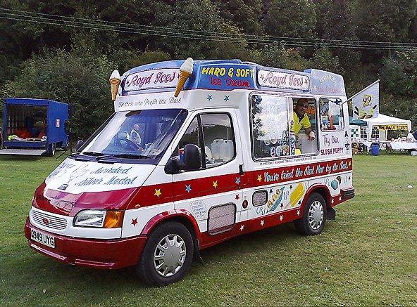Park ice cream van