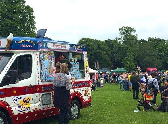 Royd Ices' ice cream van
