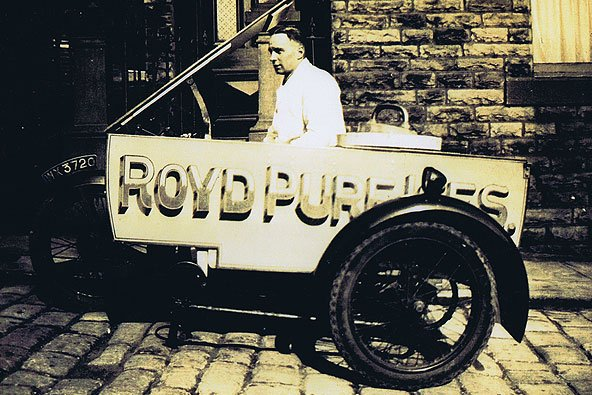 Royd Ices' original trike