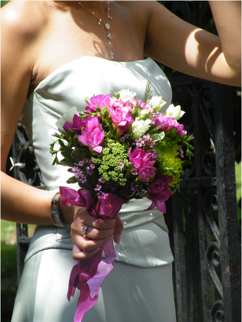 Bridesmaids loose posy
