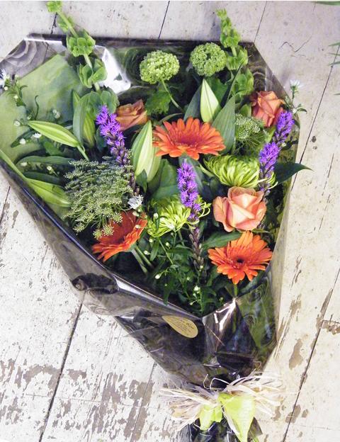 Flat bouquet 2