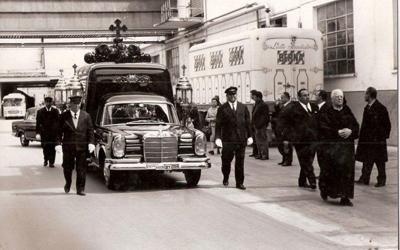 Funerale Pietro Signorini proprietario della Cirio