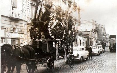 Funerale Carro funebre trainato da Cavallo