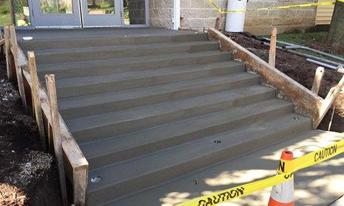 Steps concrete service