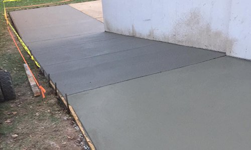 Expert concrete work