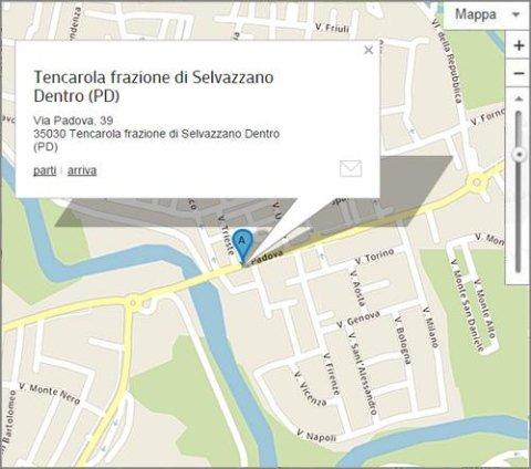 Tencarola Selvazzano Dentro - Via Padova 39