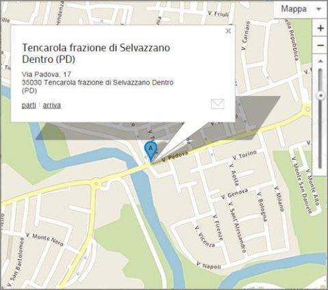 Tencarola Selvazzano Dentro - Via Padova 17