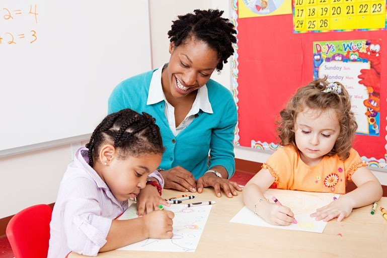 children and nursery supervisors