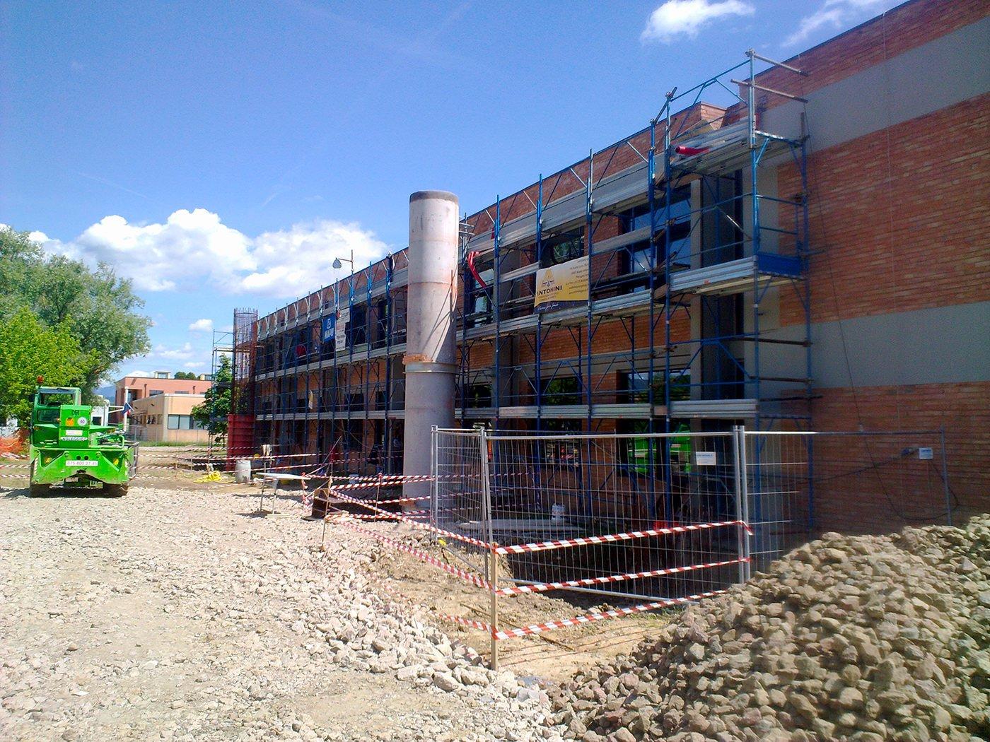 costruzione di un edificio
