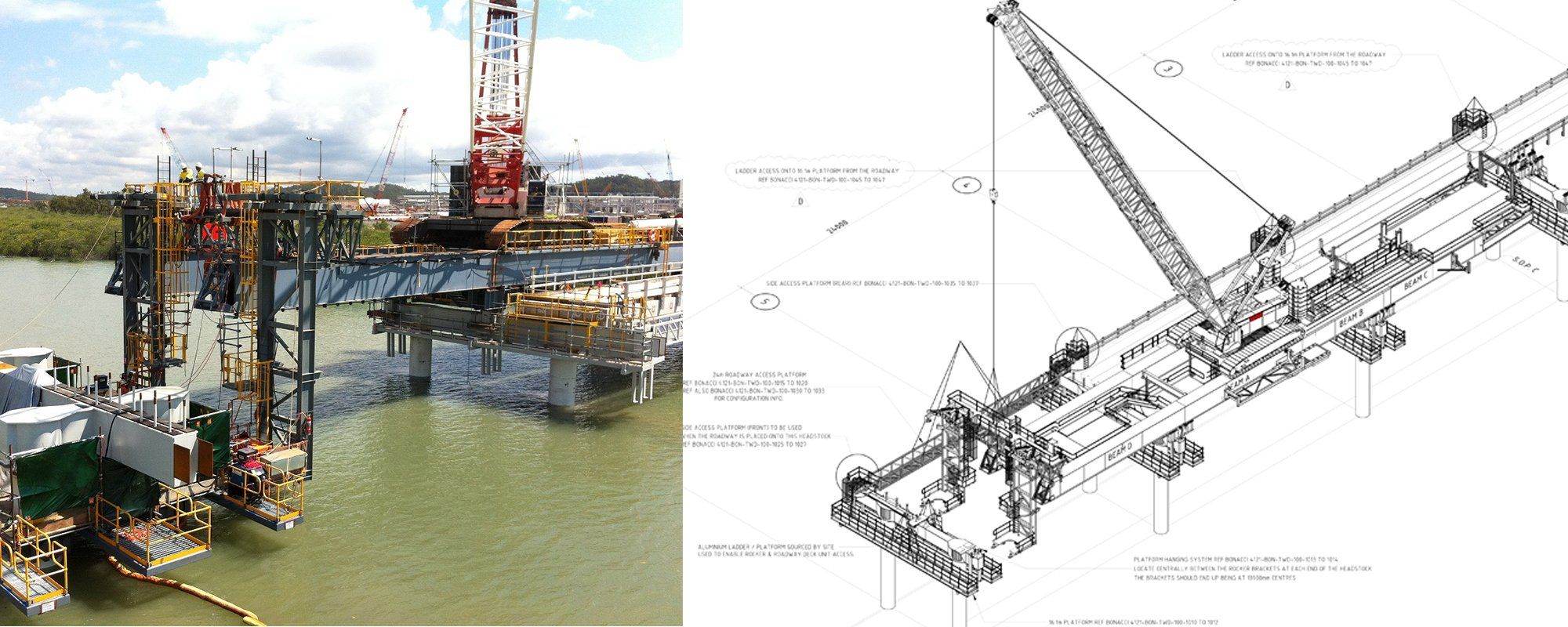 View of the design of teh project
