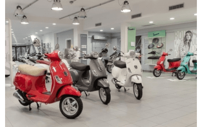 salone moto Piaggio