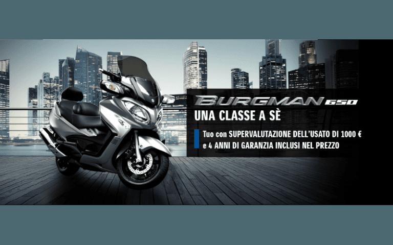 vendita scooter Suzuki