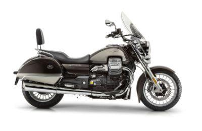 Vista laterale di una moto