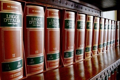 dei libri di legge