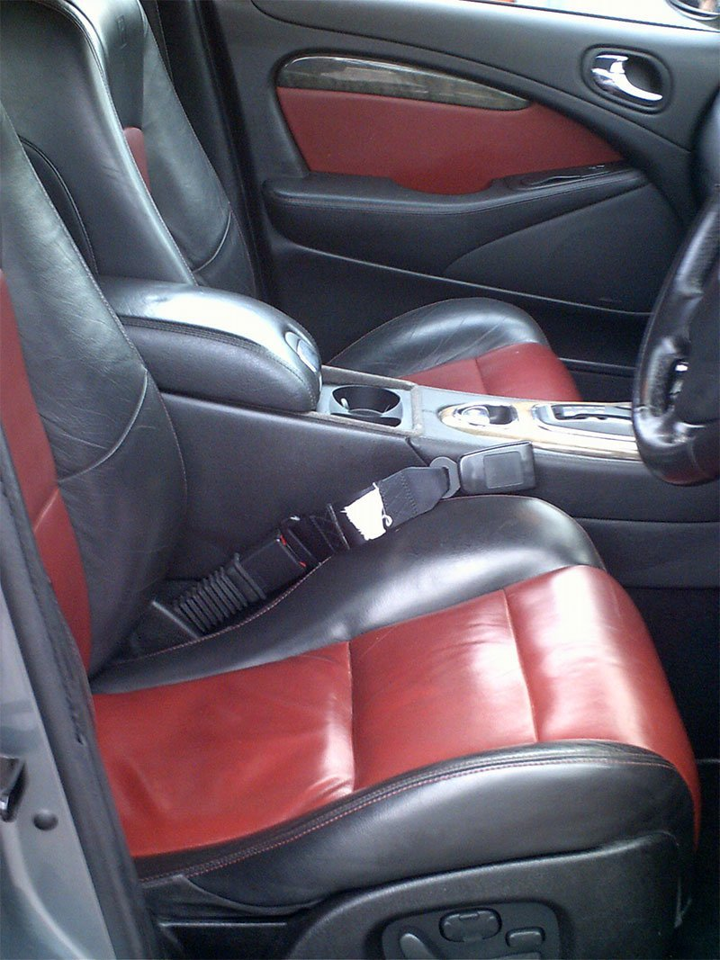 Car upholstery cleaning