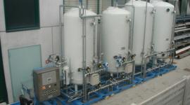 cisterne per la potabilizzazione dell'acqua