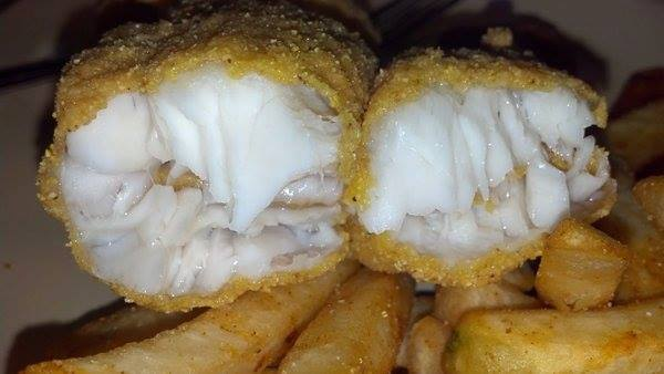 catfish fillets with french fries