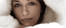 pelliccia bianca