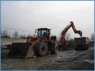 scavi e movimentazione terra