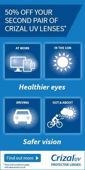London - University Vision Opticians - UV lense