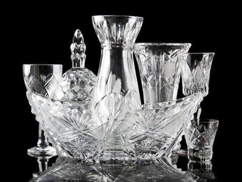 oggetti in cristallo
