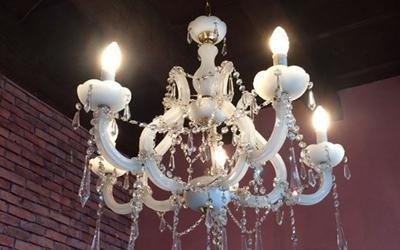 restauro lampadario