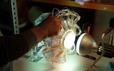 riparazione cristallo