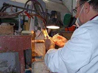lavorazione artigianale vetro