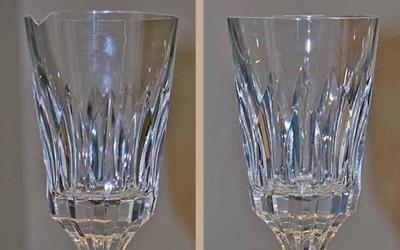 sbeccatura bicchiere