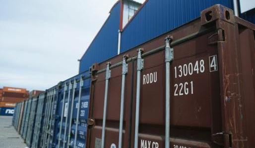 shipping containers are part of moving services in Anchorage, AK