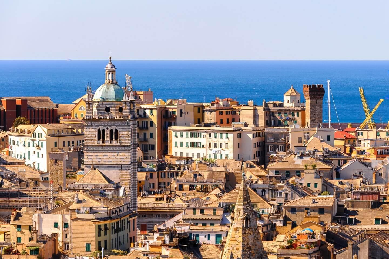 Vista di Santa Margherita Ligure a Genova