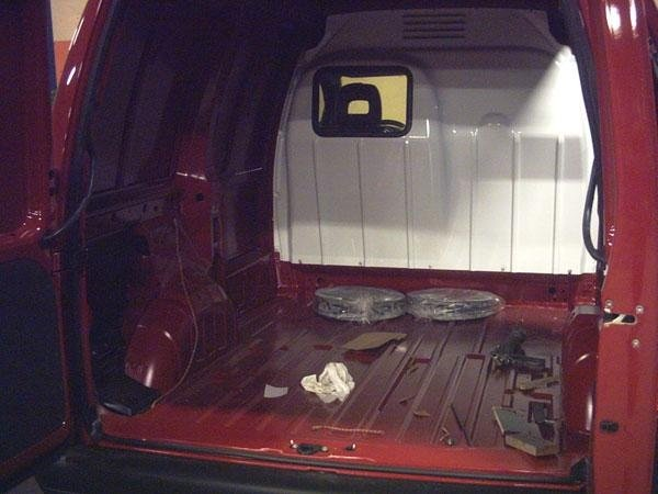 interno furgone