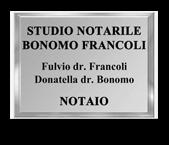 Studio notarile  BONOMO FRANCOLI DONATELLA