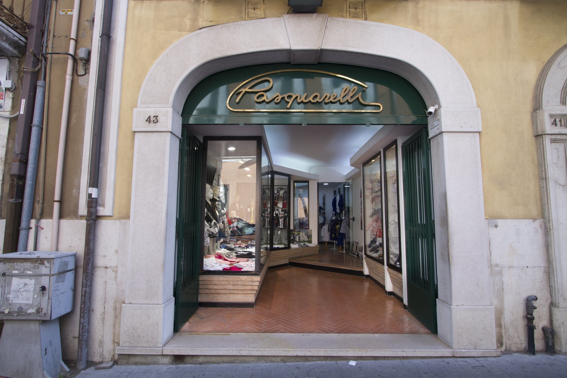negozio Pasquarelli Abbigliamento